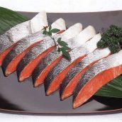 鮭専門店の塩鮭 切り身 激辛 塩辛い鮭 紅鮭!!