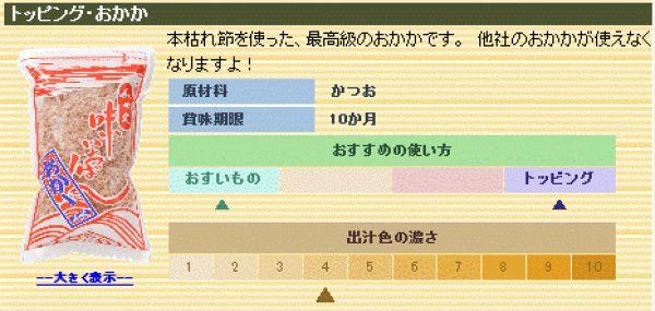 【トッピング削り節】おかか 100g - 画像2