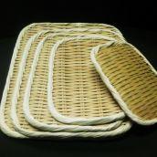 竹製 角盆ざる 27㎝