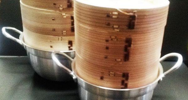 飲茶セット 杉製 18㎝ - 画像2