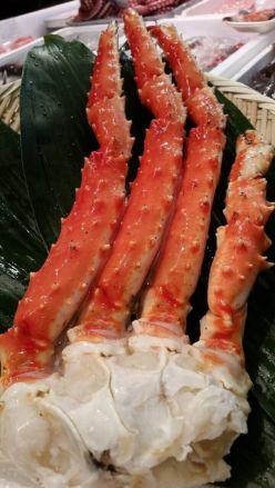 2つセット タラバガニ 3L タラバ蟹の足 築地三宅商店 - 画像2