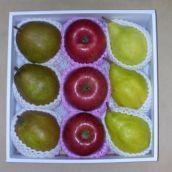 フルーツ食べ比べ! 西洋梨「ル・レクチェ」・「ラ・フランス」・りんご「サンふじ」