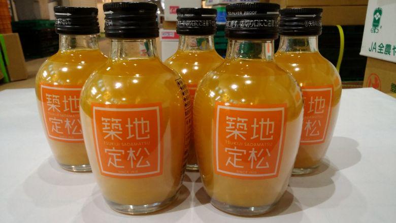 定松オリジナルみかんジュース 180ml