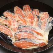 自家製 銀鮭西京漬 1切