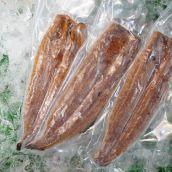 うなぎ蒲焼3本セット(国産、瓶タレ付き、冷凍真空パック)