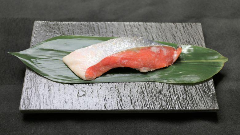 紅鮭粕漬 1切