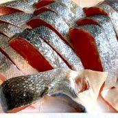 業務用:天然銀鮭(無塩) 一切