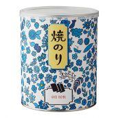 【海苔】特選焼のり(青い花) 8切92枚入 (商品番号 N-34)