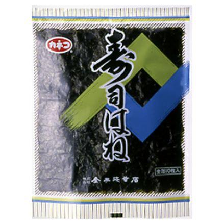 【海苔】N-7 焼のり 徳用すしはね (全形10枚×3袋入)