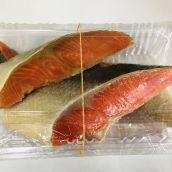 天然紅鮭激辛4枚入り