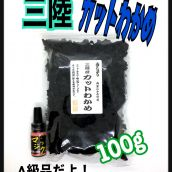 三陸カットわかめ 岩手県産 100g