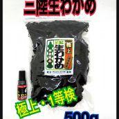 三陸生わかめ【極上・1等検】500g