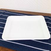 野田琺瑯 バット 全白 ホワイト キャビネ