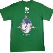 まぐろTシャツ 緑色 XLサイズ【TUNA T-shirt Green XL】