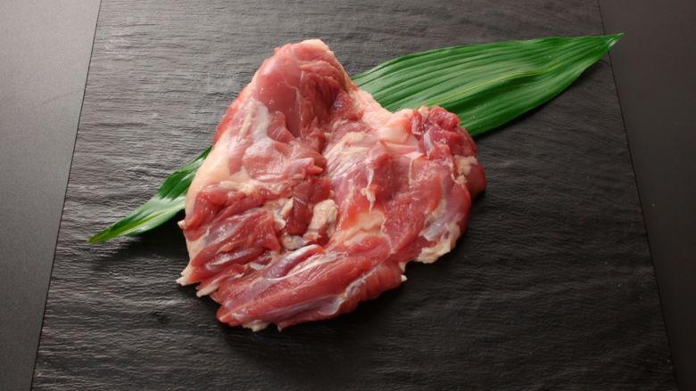 【鳥藤の鴨肉】特選合鴨 岩手がも もも肉 脂身カット 1枚 フレッシュ