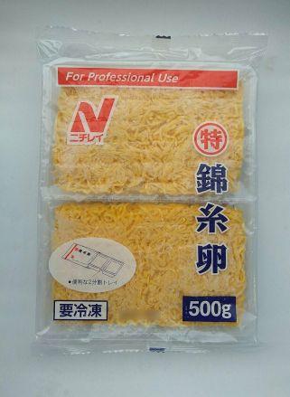 ニチレイ 冷凍錦糸玉子 500g入 - 画像1