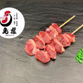 【プロ仕様 焼き鳥】砂肝串 5本入り 手刺し ※業務用やきとり ※国産鶏肉