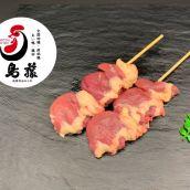 【プロ仕様 焼き鳥】ハツ串 5本入り 手刺し ※業務用やきとり ※国産鶏肉